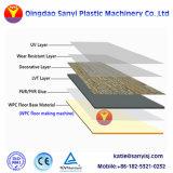 La junta de espuma de plástico PVC WPC/ el suelo de la máquina de extrusión
