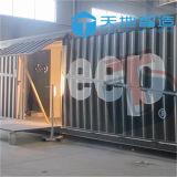 Nuevo contenedor de los 20FT los 40FT con la puerta lateral de los personales