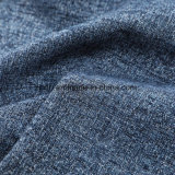 Tessuto da arredamento tessuto ratiera blu di colore per lo Slipcover