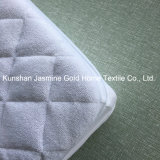Protezione lavorata a maglia molle impermeabile del materasso Zippered tessuto