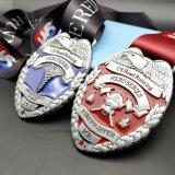 Maratón de aleación de zinc de la medalla de deporte con sentido del diseño