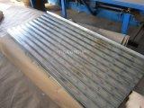 Strati ondulati ricoperti zinco galvanizzati del tetto del metallo per il tetto e la parete