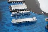 Barato preço corpo sólido de cor azul Estilo Sg guitarra eléctrica