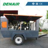 Industrieller motorangetriebener beweglicher/beweglicher Drehschrauben-Dieselluftverdichter