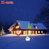 Lichte Projector van de Douche van de LEIDENE Ster van Kerstmis de Lichte Lichte