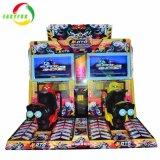 Motore del gioco elettronico di corsa di automobile dei 2 giocatori che corre la macchina del gioco della galleria del simulatore