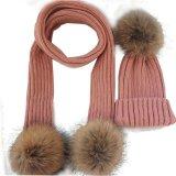 Sahnekabelknit-Schal-/Wolle-Schal-Schal des Azteke-Scarf/100%