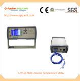 PT100 Rtd 기능 (AT4516A)를 가진 온도 기록 장치