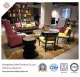 Mobília generosa do hotel para o sofá do assento da sala de visitas três (6961)