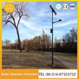 De alta calidad impermeable El Control inteligente de luz LED de luz solar calle