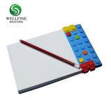 Blocchetto per appunti creativo del Portable del rilievo di graffiatura del silicone dei blocchi