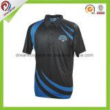 Custom Design Sublimated Digital Printing Cricket Jersey Pattern