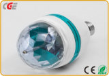 3W/5W RGB Rotating Colorful LED Bulbs Stage Disco Light Bulb Stage 를 사용하는 E27/B22