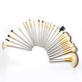 12 18는 24장의 PCS 메이크업 솔 세트 직업적인 합성 Kabuki 기초 혼합 액체 분말 크림 화장품 Concealer 눈 마스크 적면한다