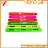 실리콘 Papa 손 악대 실리콘 Papa 소맷동 실리콘 (YB-WT-112)를 인쇄하는 다채로운 Cmyk