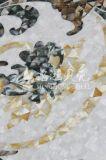 Schnitzen der Shell-Mosaik-Mutter des Preal Baumaterials