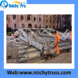 Spigot Square Aluminum of steam turbine and gas turbine systems Truss, Lighting Truss indoor and outdoor