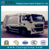 Camion d'ordures arrière de compacteur de charge de HOWO 4X2 à vendre