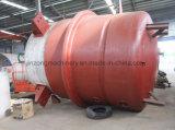 15, 000 litros de reator químico com aquecimento do revestimento e refrigerar da bobina