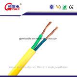 Câble plat de cuivre isolé par PVC