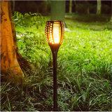 indicatore luminoso solare della torcia LED della fiamma 2018new per l'iarda del prato inglese
