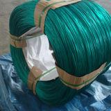 Fio revestido do ferro do PVC da alta qualidade de Anping