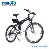 MTB bicicleta eléctrica plegable con doble amortiguador