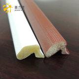 Белого цвета в форме PU губчатое уплотнение газа от губки из ПЭ оболочка для дерева двери