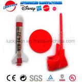 Het Plastic Stuk speelgoed van de Lanceerinrichting van de raket voor de Bevordering van het Jonge geitje