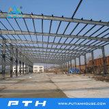 Conception personnalisée Structure en acier de grande portée entrepôt avec une installation facile
