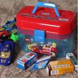 2層の子供のおもちゃ箱の収納箱80002