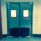 Impacto da Porta de Abertura e Fechamento de folha dupla porta de tráfego da porta de aço inoxidável