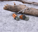 Hi-Fi Deep Bass in-Ear Huanghauli Wooden Headset for Phone