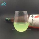 taza plástica del vino de la buena calidad de 16oz 450ml, vidrio irrompible