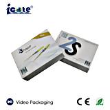 Venda por atacado caixa video de um cumprimento de 4.3 polegadas com sensor leve, alta qualidade