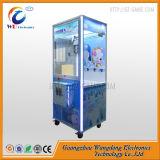 중국에서 소형 견면 벨벳 장난감 클로 기중기 기계