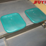 Assento plástico de dobramento moldado sopro da ginástica da cadeira do estádio da venda quente barata ao ar livre do assento