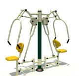 Amaestrador elíptico para la sola persona/amaestrador elíptico de la aptitud del ejercicio al aire libre al aire libre del equipo