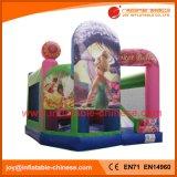 Aufblasbares springendes Schloss/aufblasbarer Moonwalk-Prahler für Kinder (T3-716)