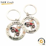 Цепь изготовленный на заказ сувенира металла ключевая для рынка Дубай (Y04645)