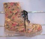 Женщин прозрачные дождя ботинки, прозрачных ботинки и прозрачных ПВХ дождь Boot