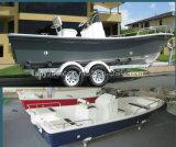 Liya 14-25 pieds bateaux de pêche en fibre de verre Panga Bateau pour la vente