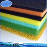 Material del filtro de aire de la espuma de la venta directa de la fábrica de China