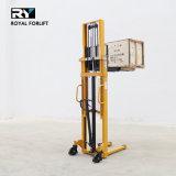 高貴な1.0/1.5/2.0t手の販売1000kg 1500kg 2000kgの上昇装置のための油圧フォークリフトパレットスタッカー