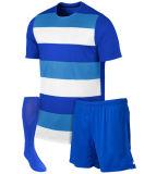 Whosaleの習慣は印刷されたフットボールのサッカーのワイシャツの子供を昇華させた