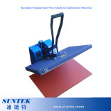 15x15cm Suntek Prensa térmica plana estándar de la sublimación de la máquina la máquina