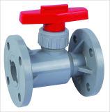 CPVC Фланец шарового клапана, пластиковый шаровой клапан
