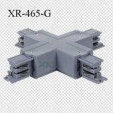 白くか黒いまたは灰色3回路トラックXコネクター(XR-465)