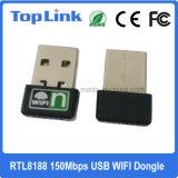 Haut de page-8188 Mini 150Mbit/s 802.11n USB sans fil WiFi Carte réseau pour l'IPTV