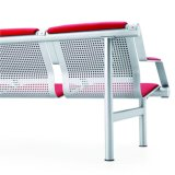 نوعية متأمّلة ينتظر مجموعة كرسي تثبيت مع تصميم تضمينيّة
